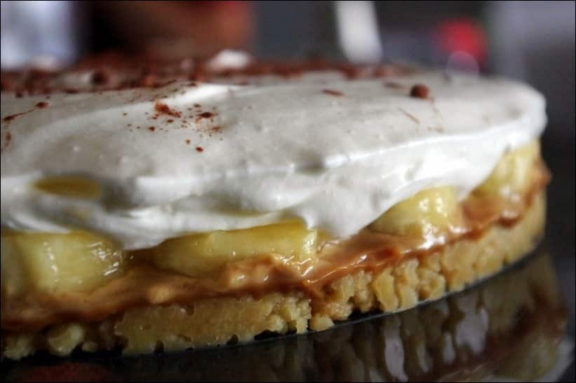 banoffee pie confiture de lait