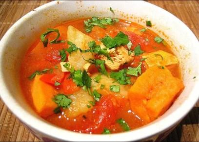 soupe mexicaine