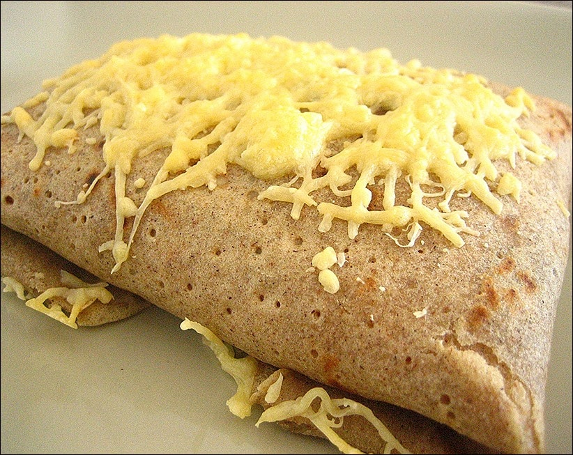 crepe jambon fromage bechamel