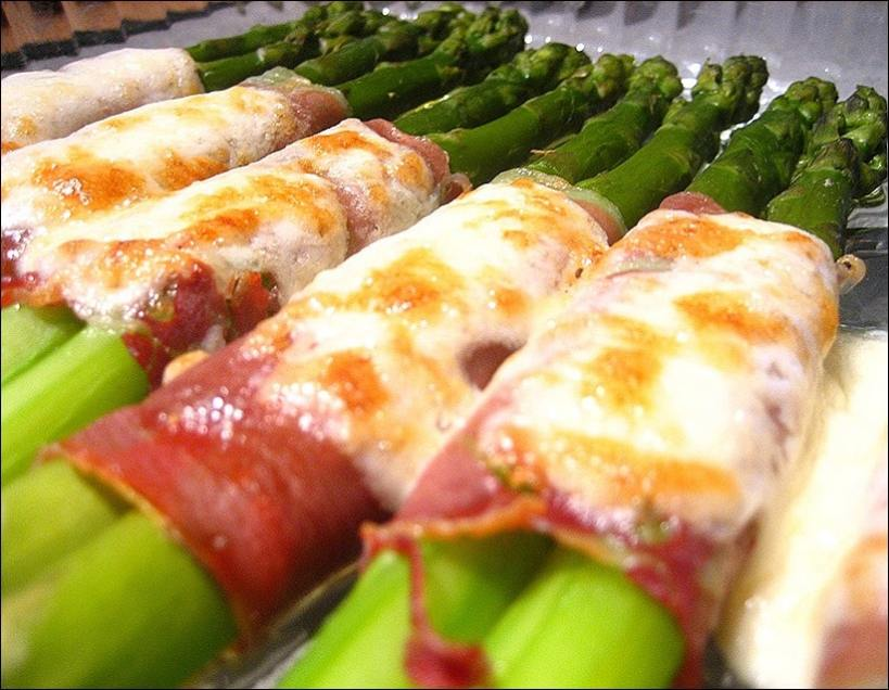 asperge jambon fromage