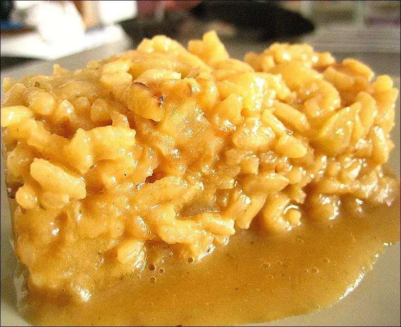 risotto au fenouil et parmesan