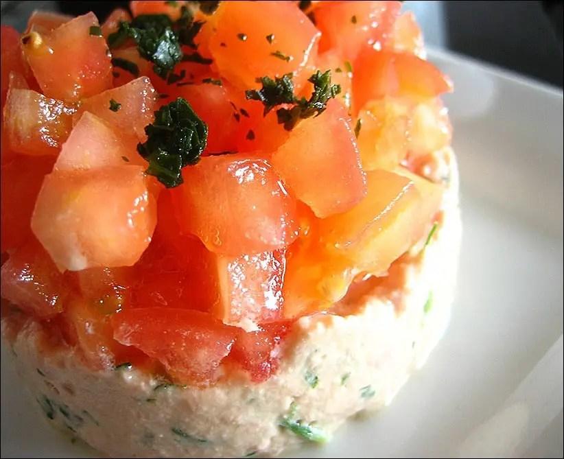 tomate au thon dietetique