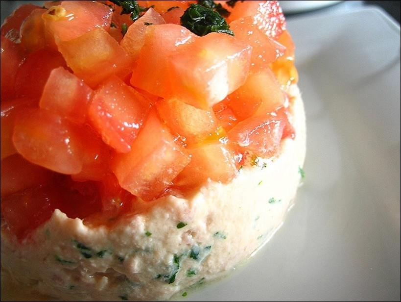tomate au thon mayonnaise