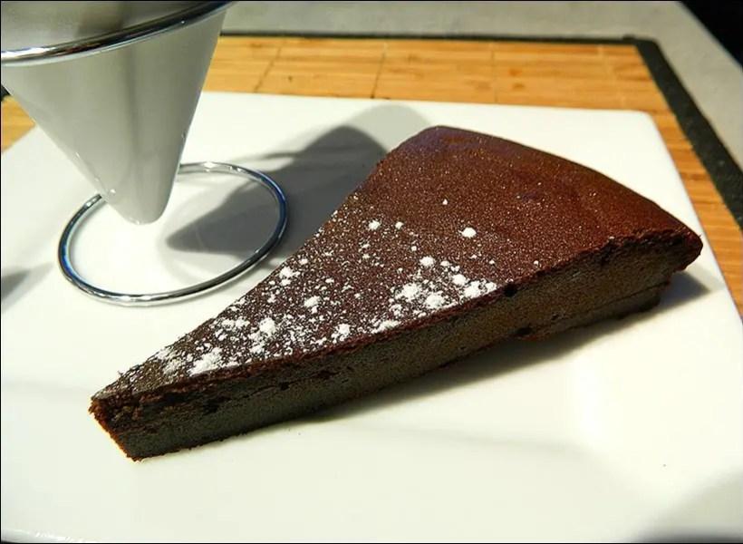 fondant au chocolat et mascarpone de Cyril Lignac