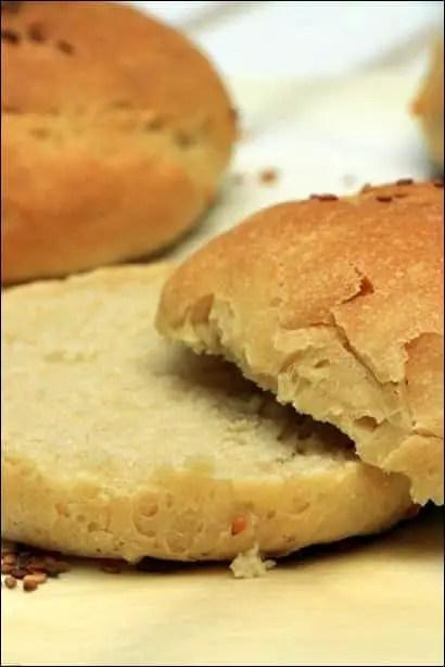 recette de pain pour burgers