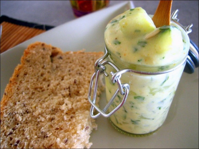 dip fromage blanc concombre