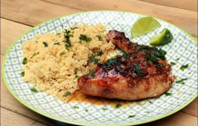poulet rôti au 5 épices et boulghour