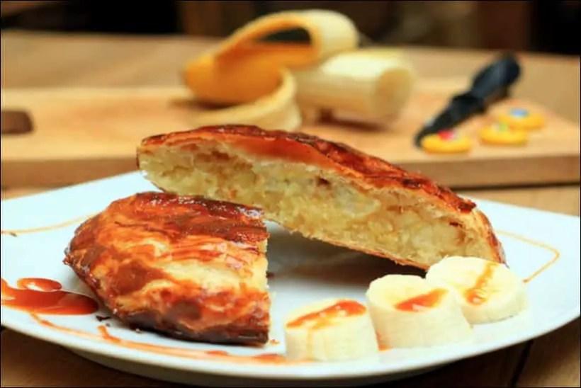 recette galette des rois banane amande coco