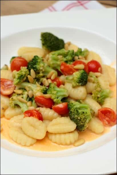 gnocchi brocoli tomate