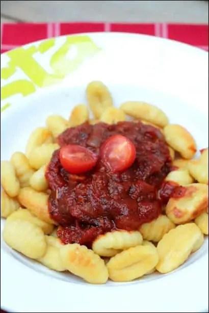 gnocchi poele tomate