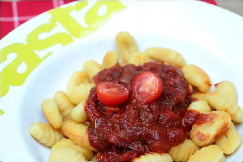gnocchi a poeler sauce tomate maison