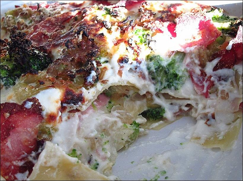 lasagnes jambon bechamel
