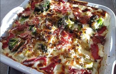 lasagnes au jambon brocolis et ricotta