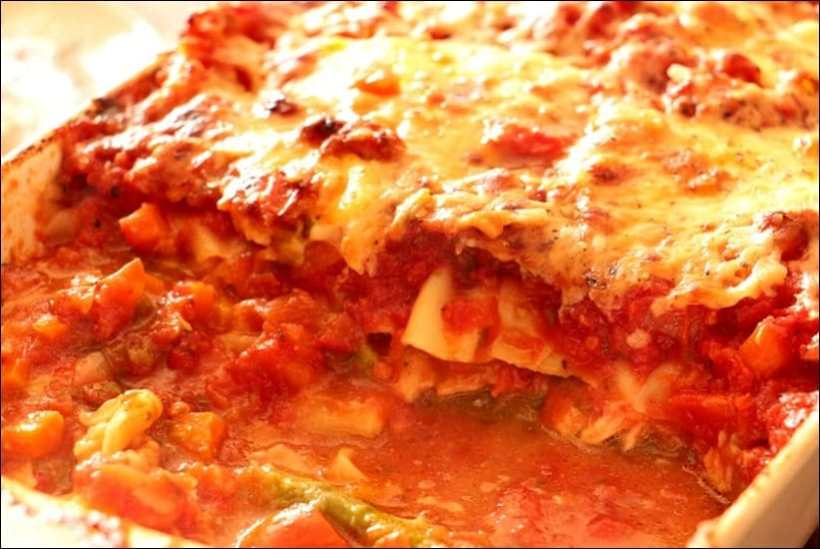 lasagnes saumon frais