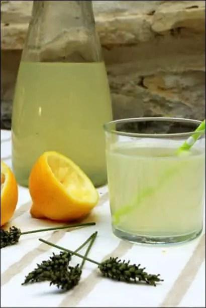 limonade citron lavande