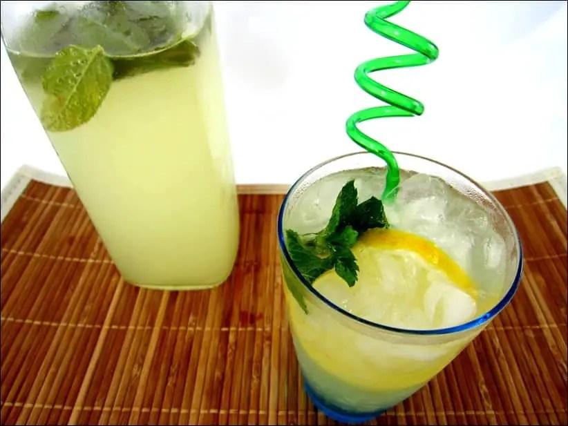limonade de gingembre et de citron