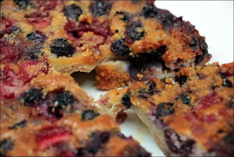moelleux fruits rouges amandes