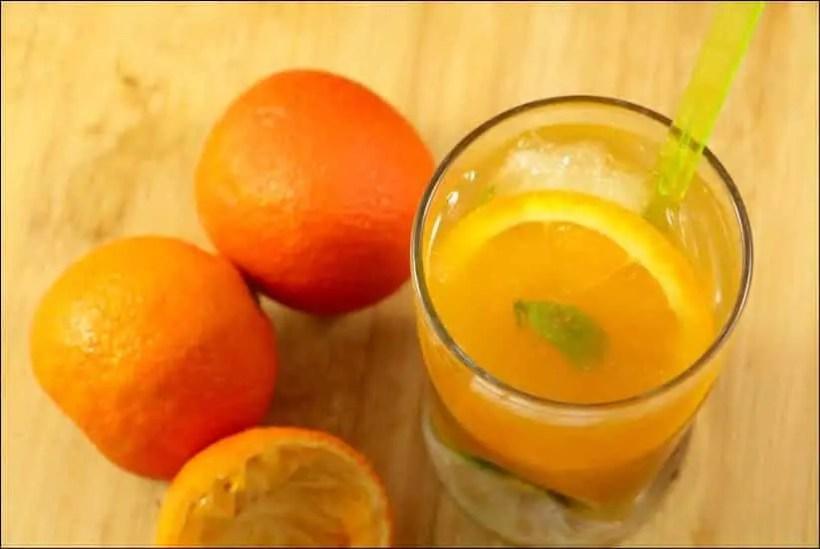recette mojito clementine