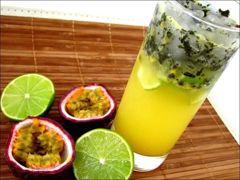 recette mojito fruit passion