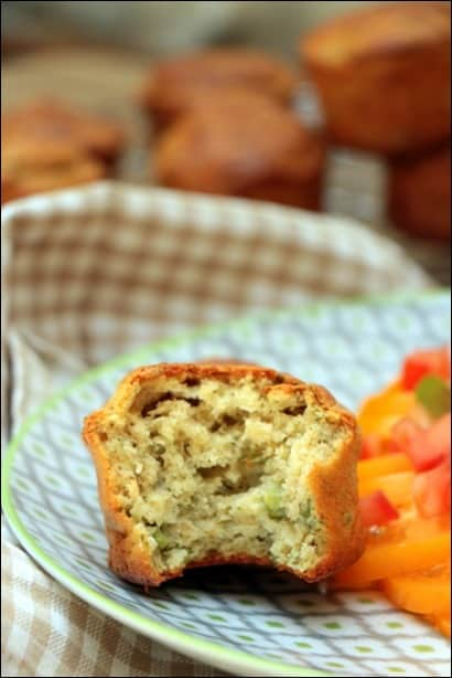 muffin petit pois chevre frais