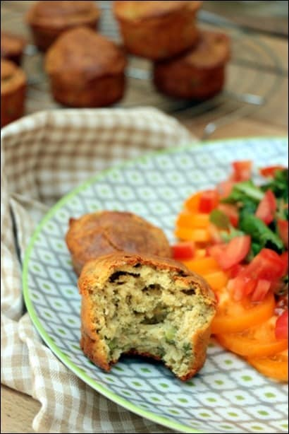 muffin petit pois chevre