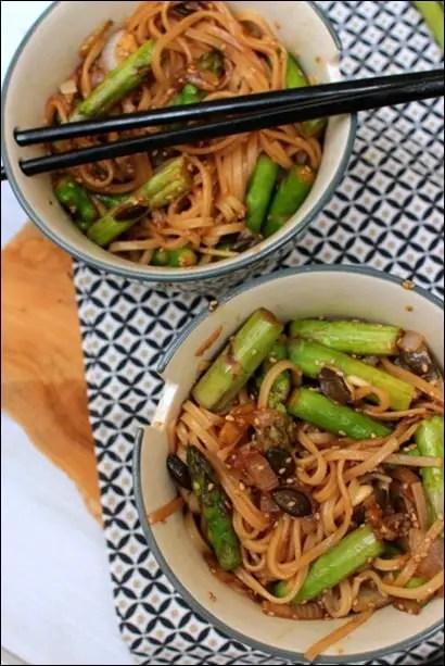 wok asperges vertes