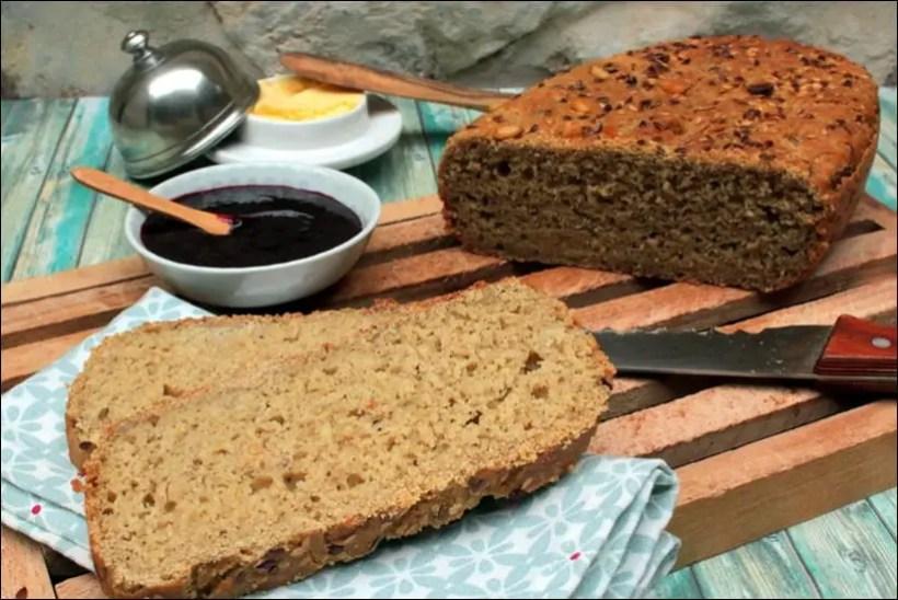 pain sans gluten à la poudre magique