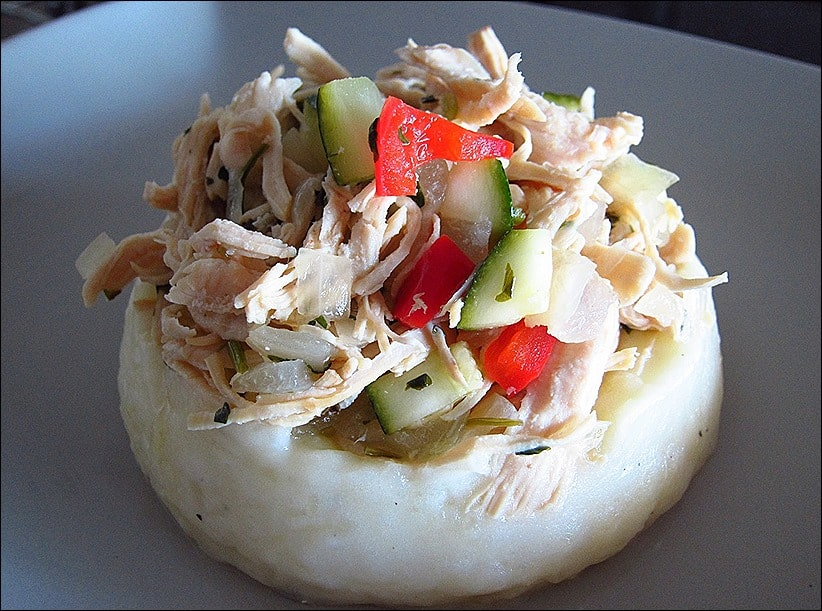 parmentier de poulet thaï
