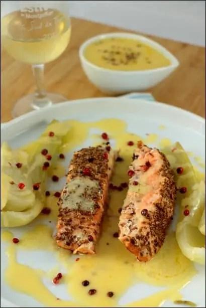 saumon fenouil vapeur