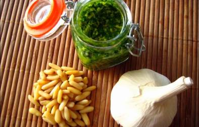 pesto vert traditionnel alla genovese