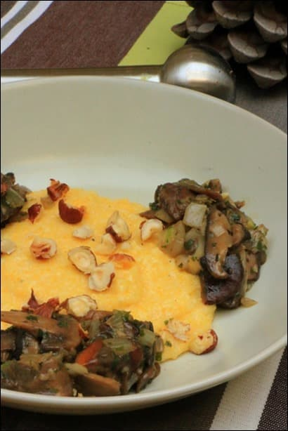 polenta beaufort champignons