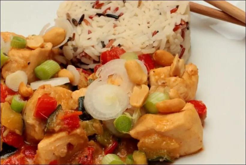poulet satay bali