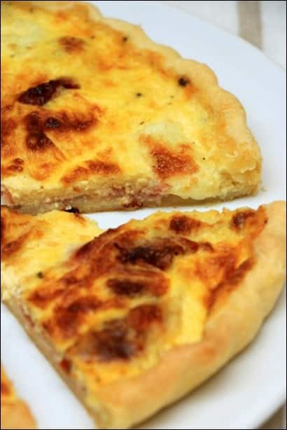 recette quiche jambon bacon fromage