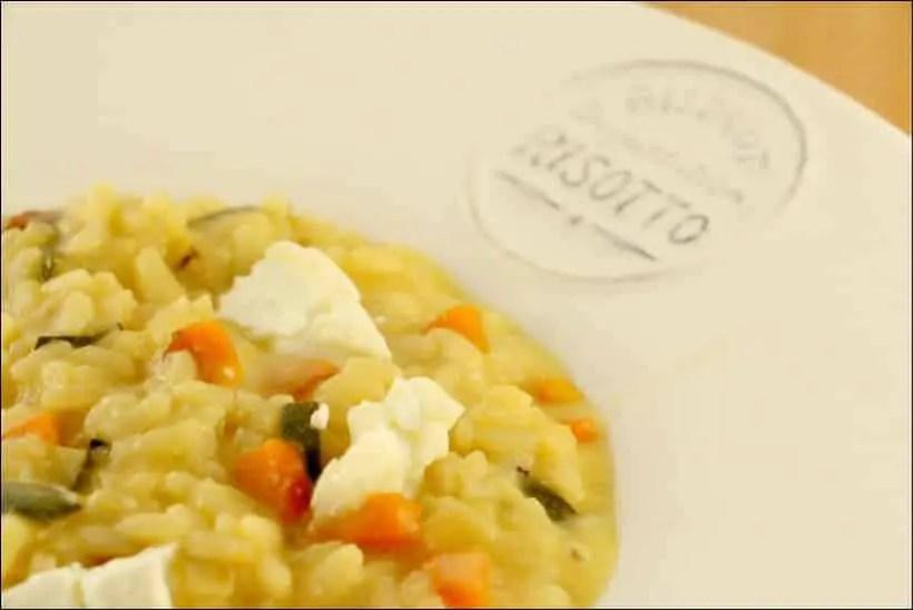 risotto légumes d'été