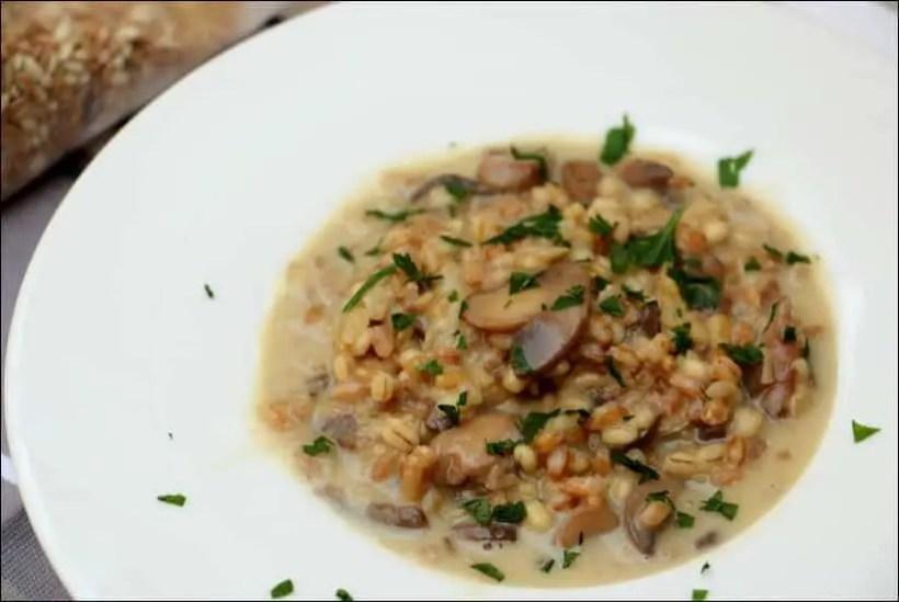 recette risotto aux cereales