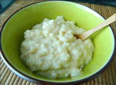 riz au lait demi écrémé
