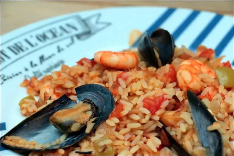 riz fruits de mer portugais