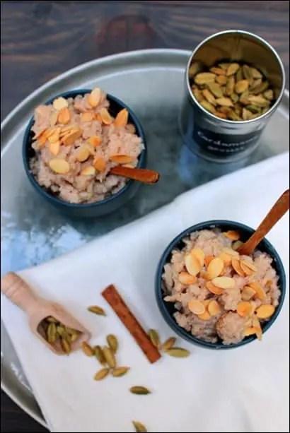 recette riz au lait aux épices