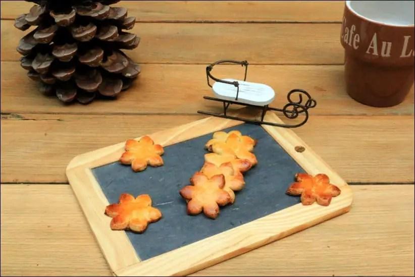 Sablés de Noël de Christophe Felder à la cannelle anis agrumes fleur d'oranger