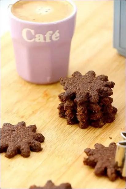 sablés chocolat van houten
