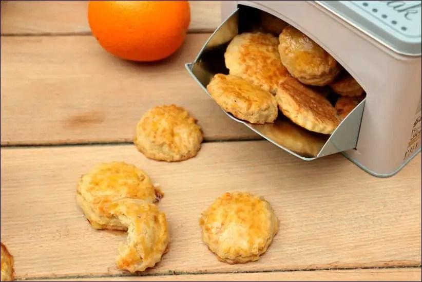 biscuits sablés fleur d'oranger