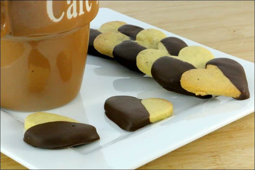 sablé pate pistaches chocolat