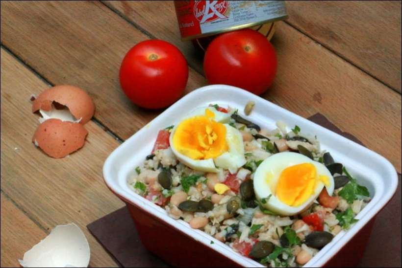 recette salade froide haricots blancs