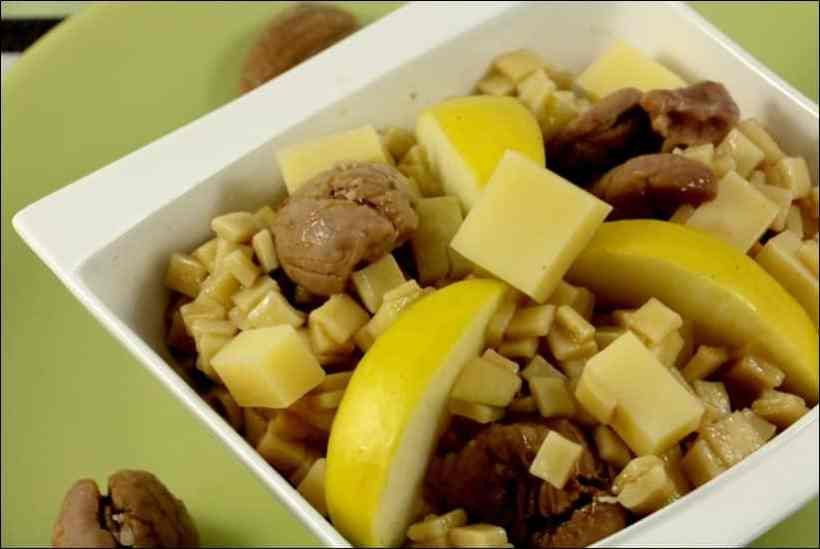 salade crozets pomme