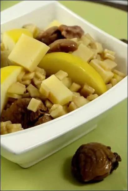 crozets en salade