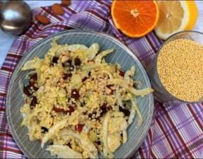 salade de fenouil millet et raisins secs