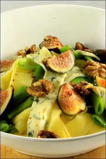 salade de pates aux figues