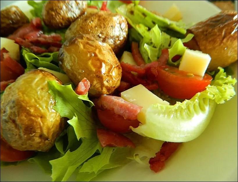 salade pomme de terre bacon