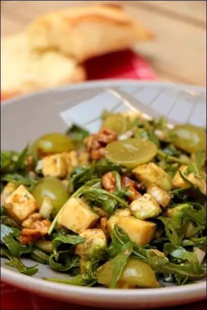 salade raisin cantal noix