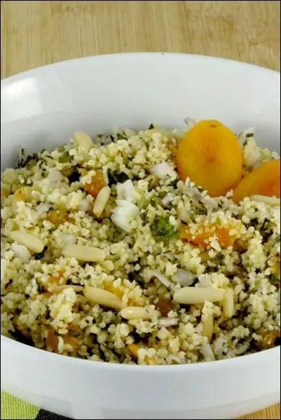 semoule couscous fruits secs